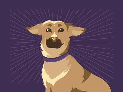 Vex animal pet vector illustration puppy dog