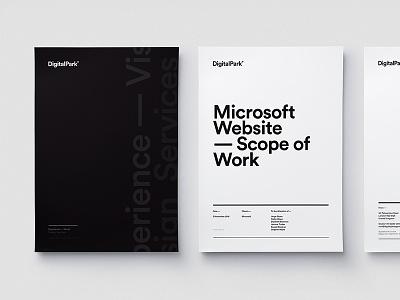 Letters — Agency Branding simple logotype clean logo design identity digitalpark branding
