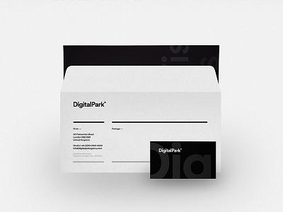 Envelope — Agency Branding simple logotype clean logo design identity digitalpark branding