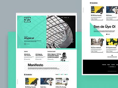 Sanata Bi'yer — Homepage website visual design ux ui typography new productpage product minimal clean