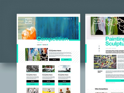Sanata Bi'yer — Competition & Details clean minimal product productpage new typography ui ux visual design website
