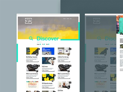 Sanata Bi'yer — Discover website visual design ux ui typography new productpage product minimal clean