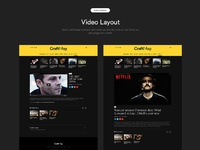 Video layout