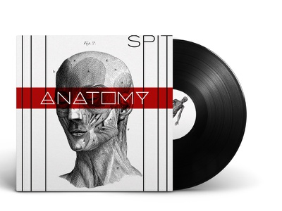 Album Cover: Anatomy by Spit anatomical anatomy album art album cover design album artwork album cover album illustration vector design