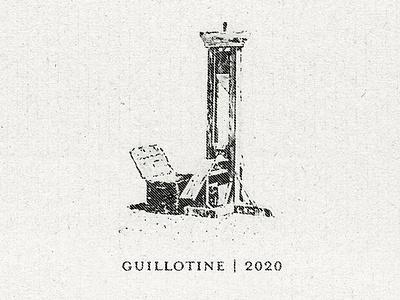 Guillotine | 2020 social commentary commentary guillotine vector illustration artwork texture satire politics illustration vector design