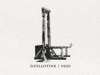 Guillotine | 2020 income inequality political vector illustration vector texture social commentary satire politics illustration guillotine design commentary artwork