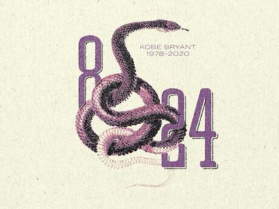 Kobe Bryant   1978-2020 typography type illustration design snake fauna vector art vector rip game changer goat mamba texture tribute kobe bryant kobe
