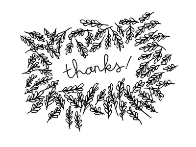 Thank You cards cards thanks lettering typography handwriting illustration