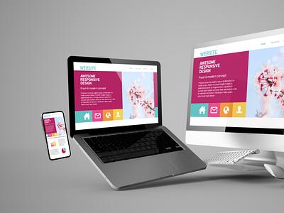 Website designing and development wordpress design website development website designing