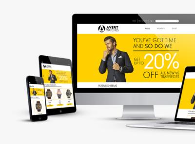 E-Commerce Responsive Design developement responsive website responsive design ecommerce