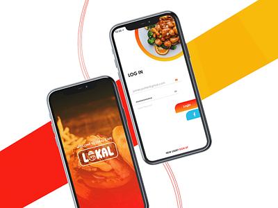 Food app | Mobile app Design and Develop mobile app development mobile app design mobile app