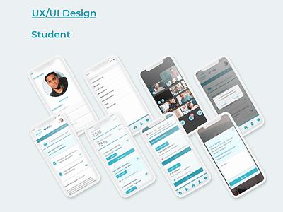 Assert Educational APP mobile ui design