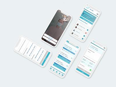 Assert Educational APP ux ui app design