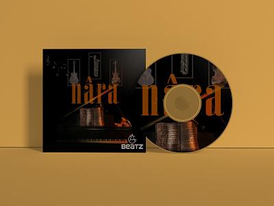 CD Mockup -  NÂRA illustrator logo icon graphic design art typography app vector design branding