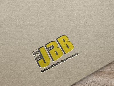 UBB -Demir Çelik Makine Sanayi Ticaret A.Ş flat icon typography graphic design art logo app vector design branding