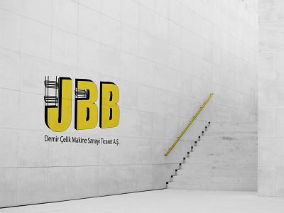 UBB - Logo Wall Mockup flat icon typography graphic design art logo app vector design branding