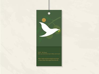 Melisa - Organic Olive Oil Sticker illustrator illustration art icon graphic design logo branding app vector design
