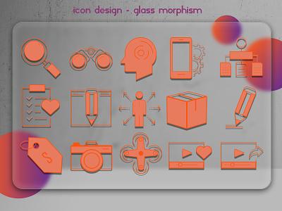İcon Design 2 illustrator logo art flat icon graphic design branding app vector design