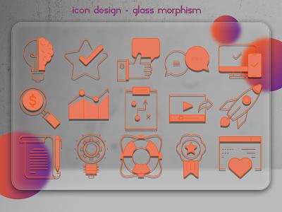 Icon Design type logo flat illustrator icon art graphic design app vector design