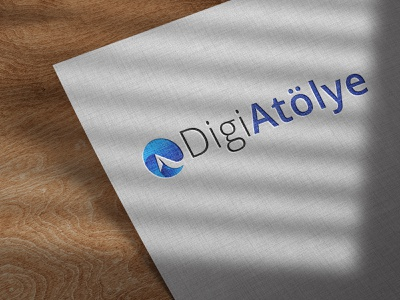 DigiAtölye Logo web website flat branding art logo graphic design app vector design