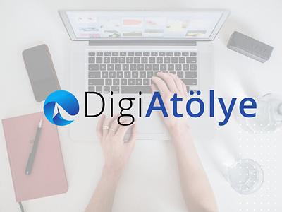 DigiAtölye website icon flat web app graphic design logo branding vector design