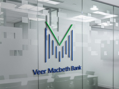 Veer Macbeth Bank | Branding branding brand banklogo bank logodesign logo vector graphicdesign graphic design