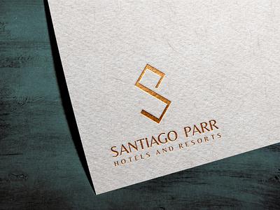 HOTEL BRANDING | SANTIAGO PARR hotel hotellogo logo branding brand graphicdesign graphic design