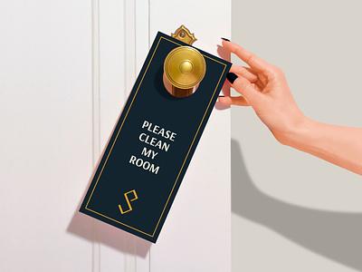 HOTEL BRANDİNG | SANTIAGO PARR doorhanger hotelbrand hotelbranding logo hotellogo branding brand graphicdesign graphic design