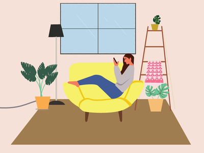 Me -time! vector illustration graphicdesign
