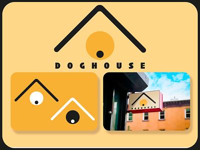 DOGHOUSE logotipo logotype logodesign design icon branding logo