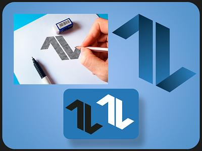7L - Logo design monogram logo logo design design icon typography branding logotype logotipo logo logodesign