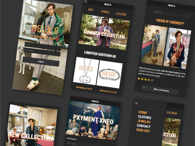 Harry Styles Application fanart front-end development frontend jquery mobile jquery ui jquery uiuxdesign userexperience userinterface uiux mobileapp application appdesign