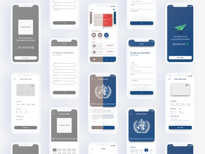 From Wireframe to Visual Design - AirPay Money Transfer App wireframe-wednesday wireframe kit wireframe design wireframes money bag money management money transfer wireframe money app money ui  ux uiux uidesign ui