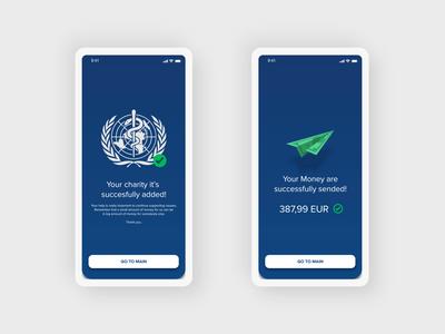 Success Pages - AirPay Money Transfer App Project money app money application app design app page builder page design pages page thanks uiux uidesign ui design ui