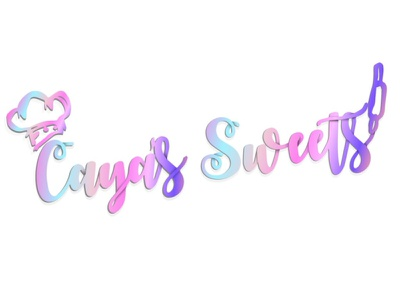 Caya Sweets colorful design art vector typography logotype logo illustration illustrator branding