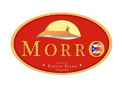 Morro Puerto Rican Cuisine icon design art vector typography logotype logo illustration illustrator branding