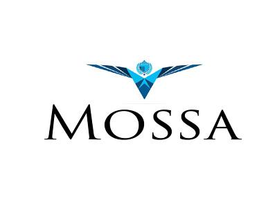Mossa Motors icon design art vector typography logotype logo illustration illustrator branding