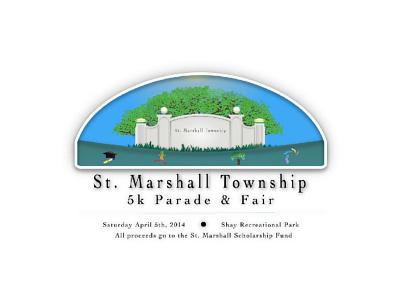 St  Marshall complex design art vector logo typography logotype illustration illustrator branding