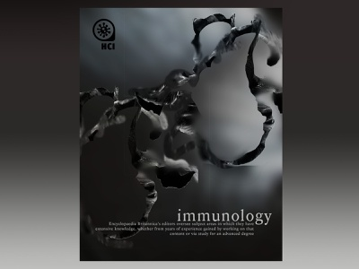 Immunology collageart collages typography design