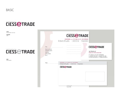 CiesseTrade logo logo design branding logotype typography logo