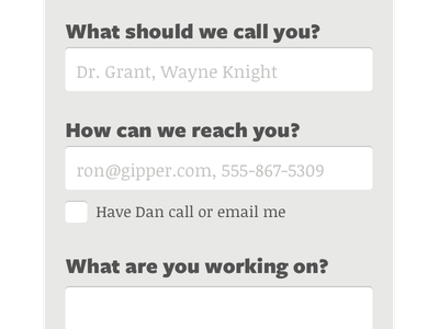 Contact Form Idea form contact button input small screen mobile