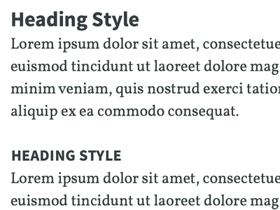 Type System Detail 2 type typography hierarchy source sans pro vollkorn