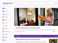 Yahoo Redesign Reconstructed