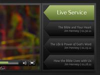 Custom Video Player Interface