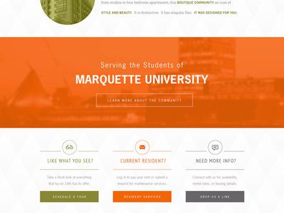 Student Living Website
