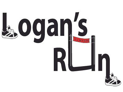 Logan s Run LOGO final vector branding illustration design logo
