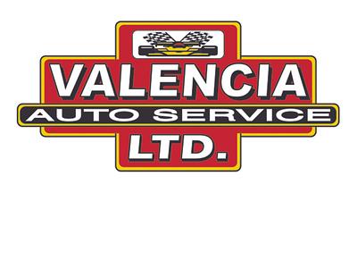 Valencia Auto Service Logo vector illustration branding design logo