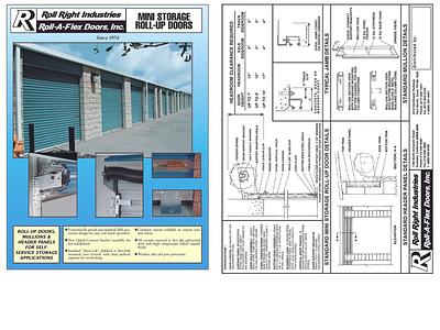 Brochures photoshop illustration branding design