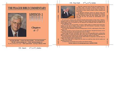 PRAGER CD Inserts typography illustration branding design