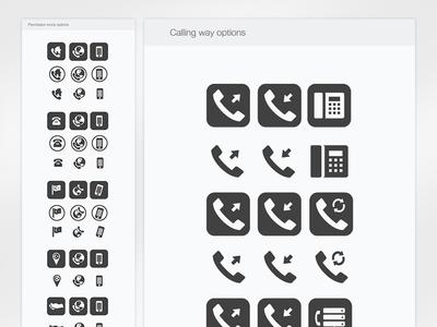 Icon creation for Bulutfon platform